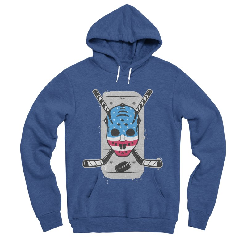 American Ice Hockey - USA Women's Sponge Fleece Pullover Hoody by zoljo's Artist Shop