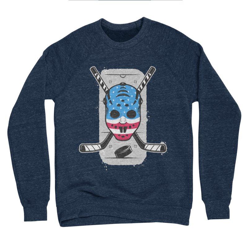 American Ice Hockey - USA Women's Sponge Fleece Sweatshirt by zoljo's Artist Shop