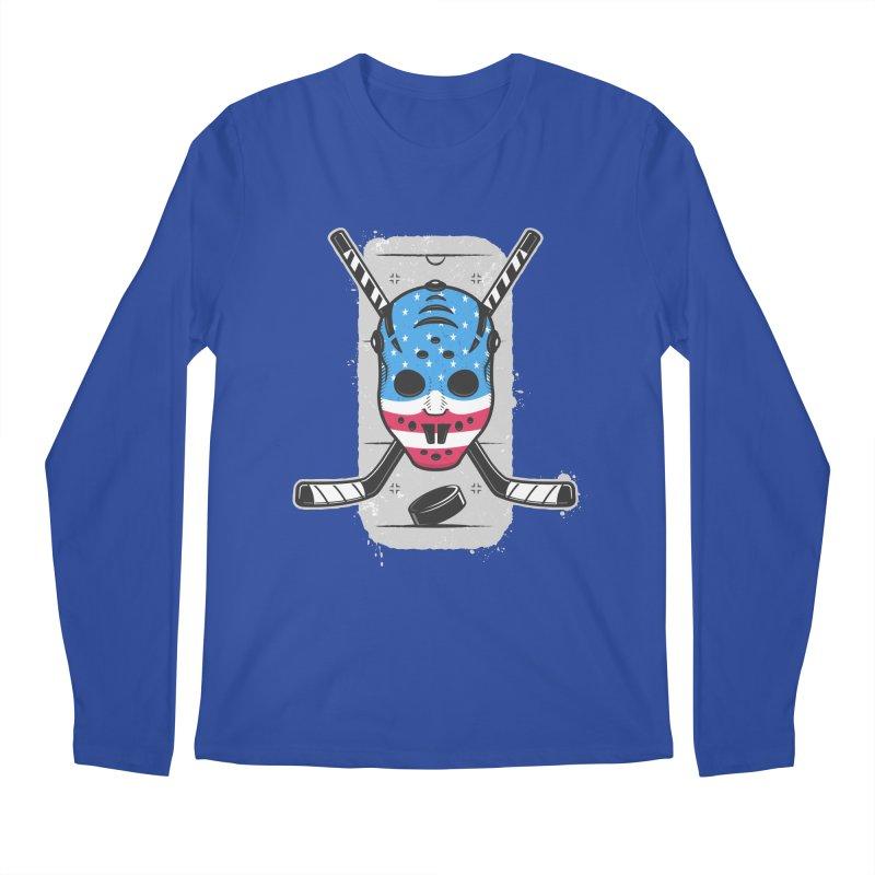 American Ice Hockey - USA Men's Regular Longsleeve T-Shirt by zoljo's Artist Shop