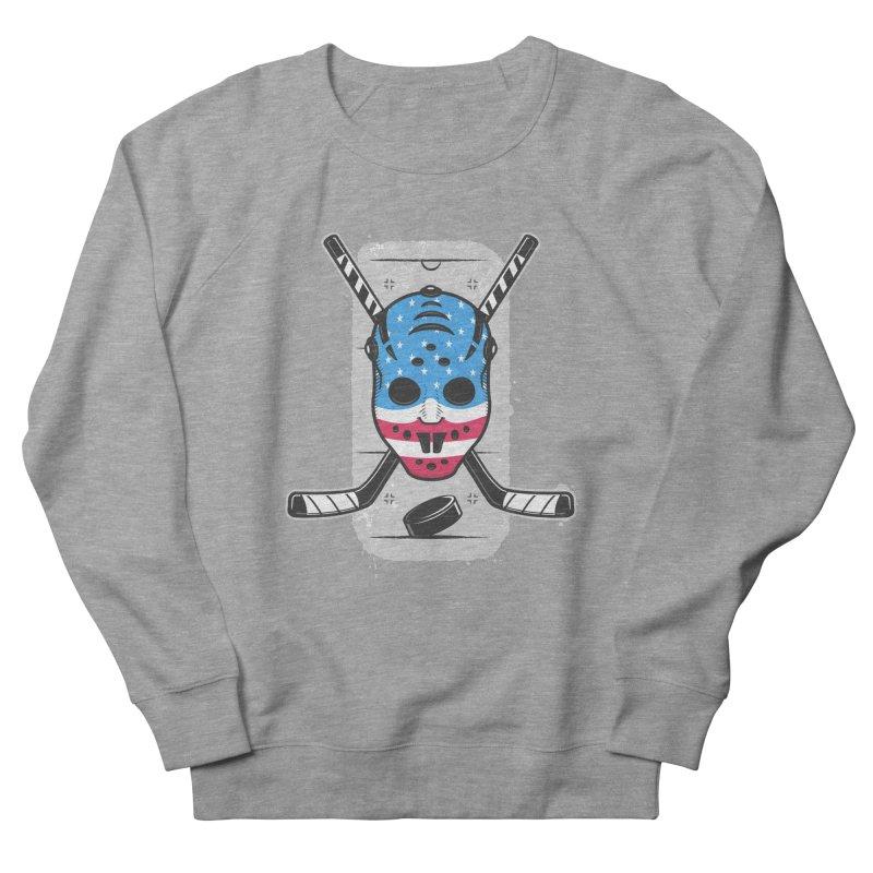 American Ice Hockey - USA Women's French Terry Sweatshirt by zoljo's Artist Shop