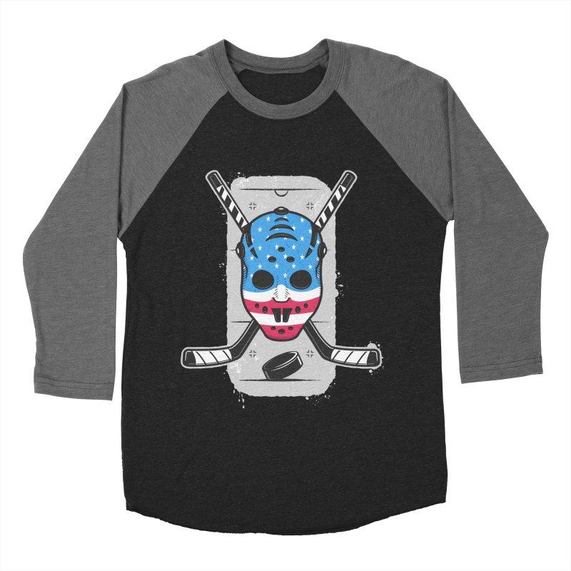 American Ice Hockey - USA Women's Baseball Triblend Longsleeve T-Shirt by zoljo's Artist Shop
