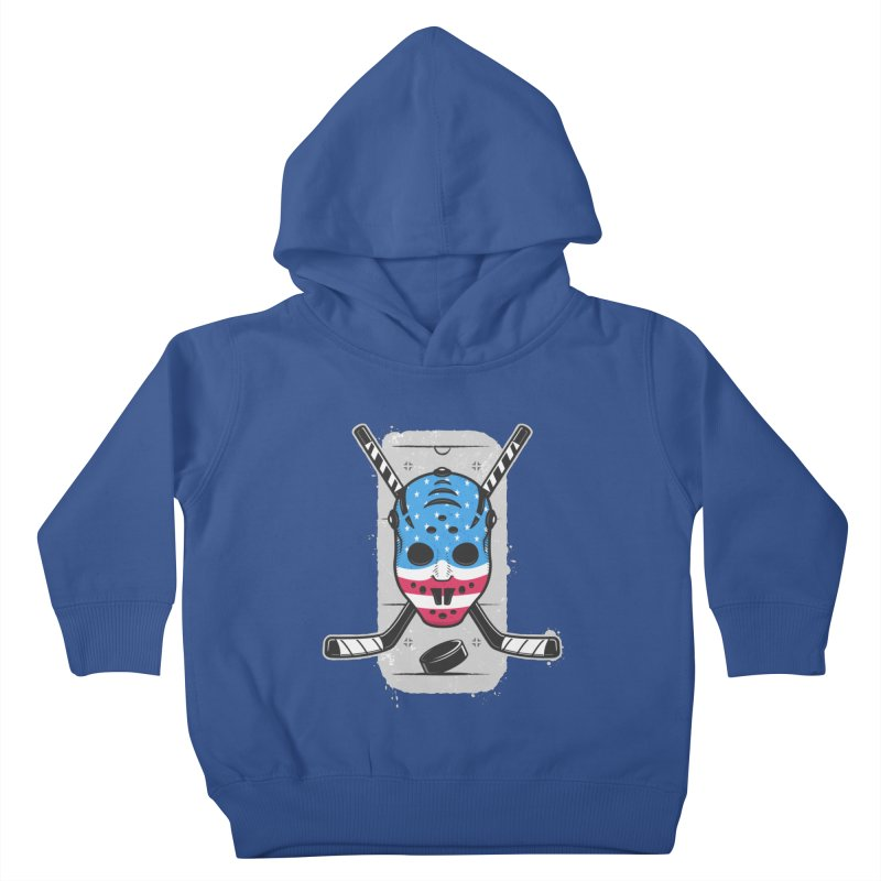 American Ice Hockey - USA Kids Toddler Pullover Hoody by zoljo's Artist Shop