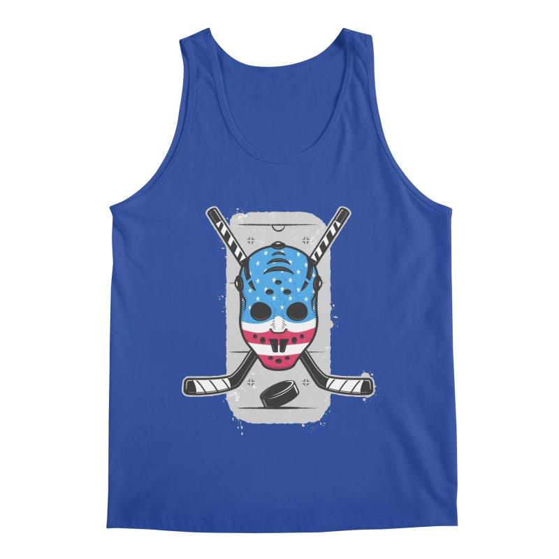 American Ice Hockey - USA Men's Regular Tank by zoljo's Artist Shop
