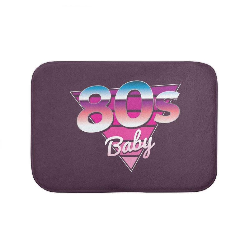 80s Baby Home Bath Mat by zoljo's Artist Shop