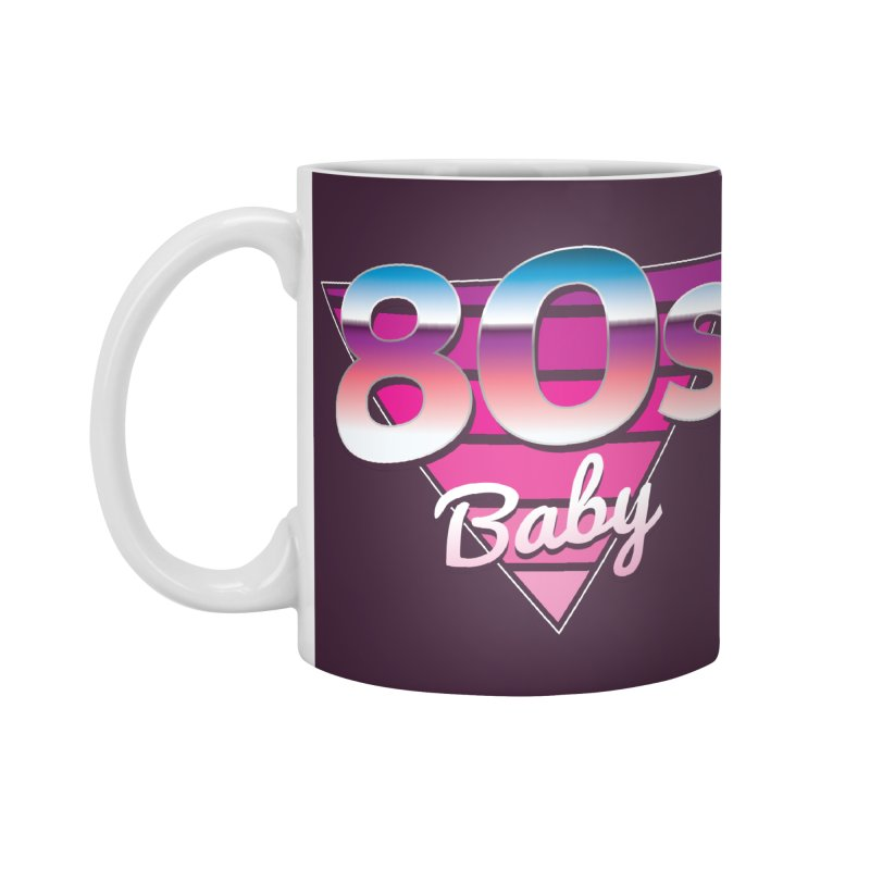 80s Baby Accessories Standard Mug by zoljo's Artist Shop