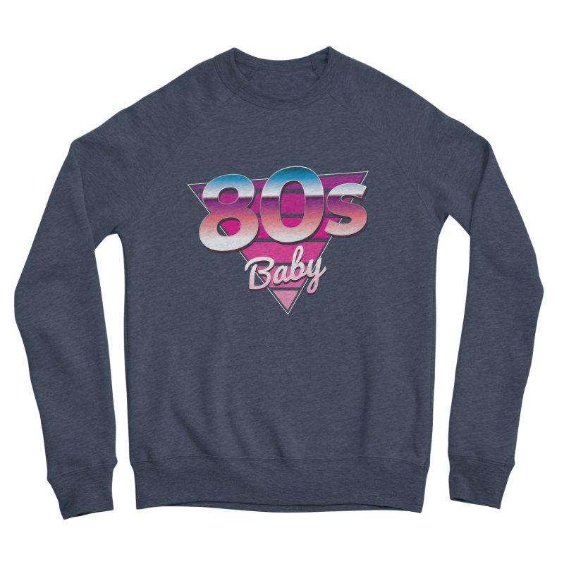80s Baby Men's Sponge Fleece Sweatshirt by zoljo's Artist Shop