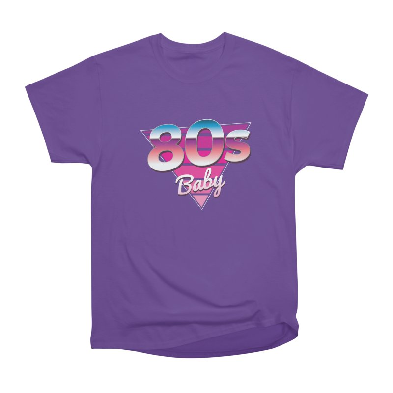 80s Baby Men's Heavyweight T-Shirt by zoljo's Artist Shop