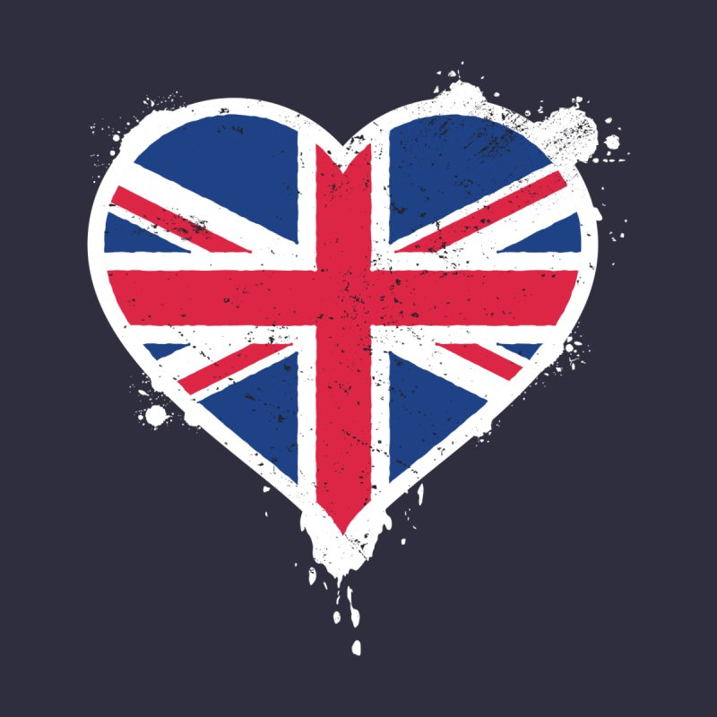 Union Jack Flag Heart by zoljo's Artist Shop