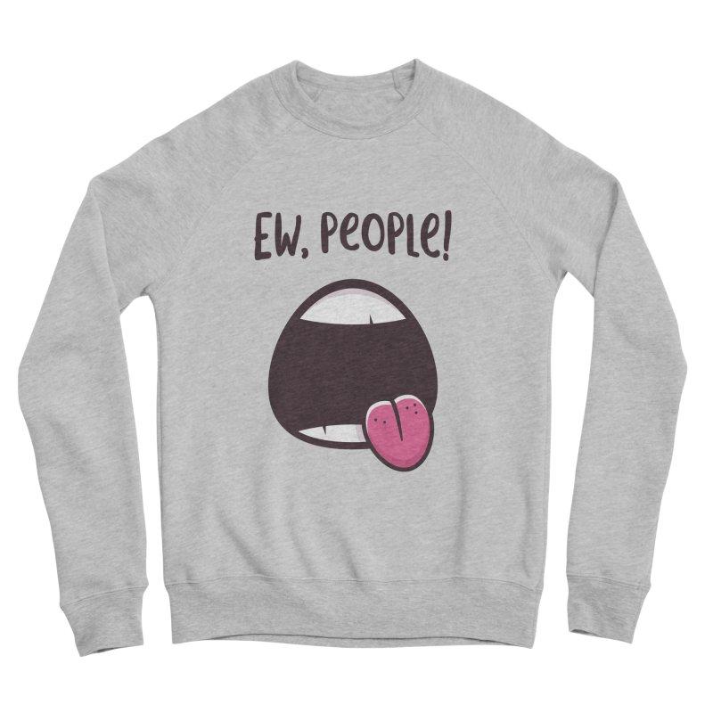 Ew People Women's Sponge Fleece Sweatshirt by zoljo's Artist Shop