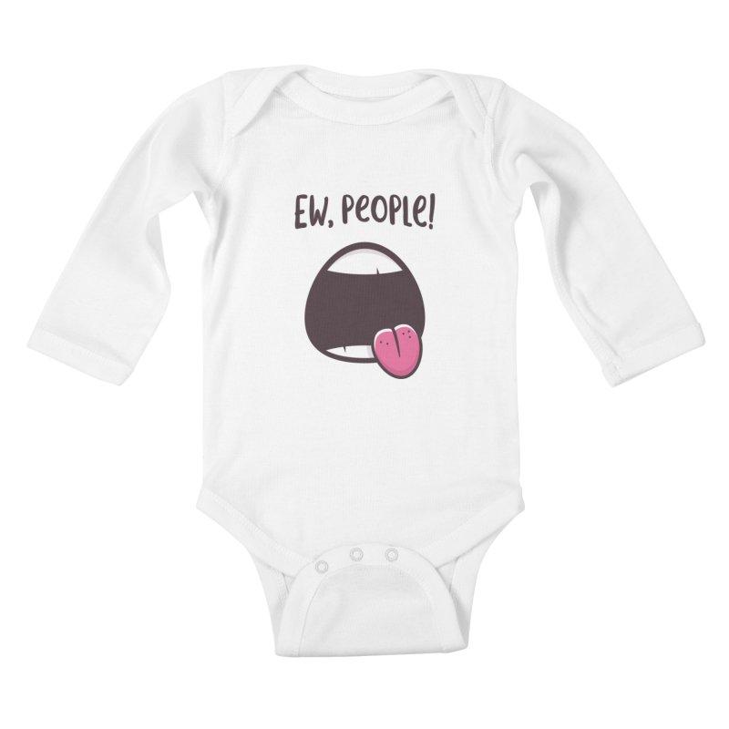Ew People Kids Baby Longsleeve Bodysuit by zoljo's Artist Shop