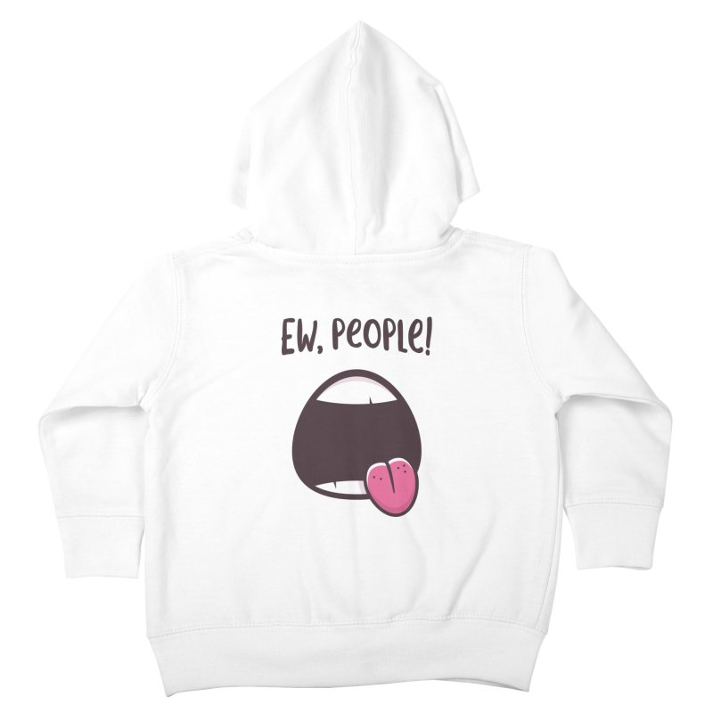Ew People Kids Toddler Zip-Up Hoody by zoljo's Artist Shop