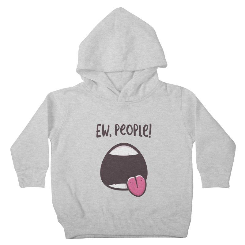 Ew People Kids Toddler Pullover Hoody by zoljo's Artist Shop
