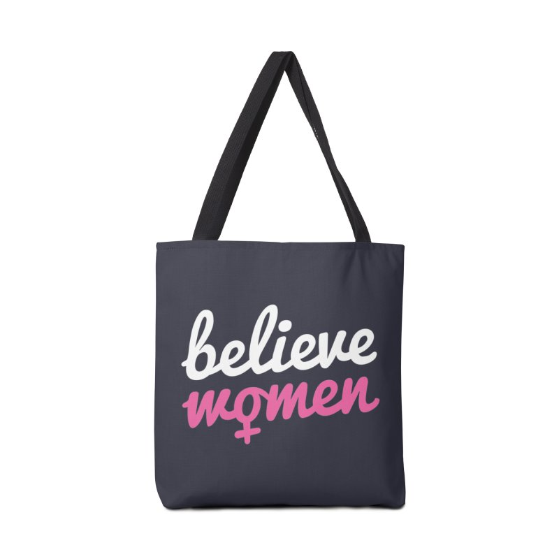 Believe Women Accessories Bag by zoljo's Artist Shop