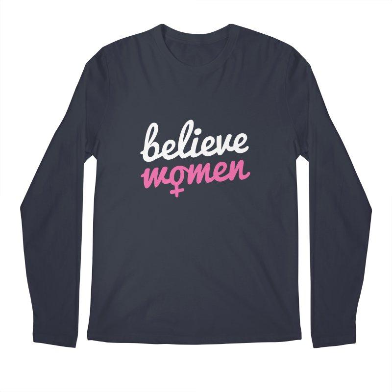 Believe Women Men's Regular Longsleeve T-Shirt by zoljo's Artist Shop