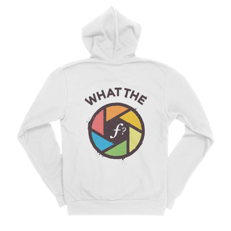 WTF - What the F? Men's Sponge Fleece Zip-Up Hoody by zoljo's Artist Shop