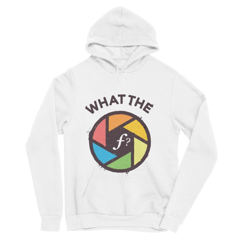 WTF - What the F? Women's Sponge Fleece Pullover Hoody by zoljo's Artist Shop