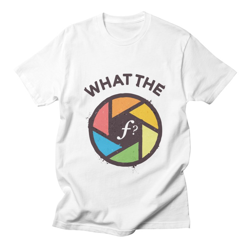 WTF - What the F? Men's Regular T-Shirt by zoljo's Artist Shop