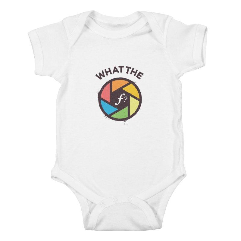 WTF - What the F? Kids Baby Bodysuit by zoljo's Artist Shop