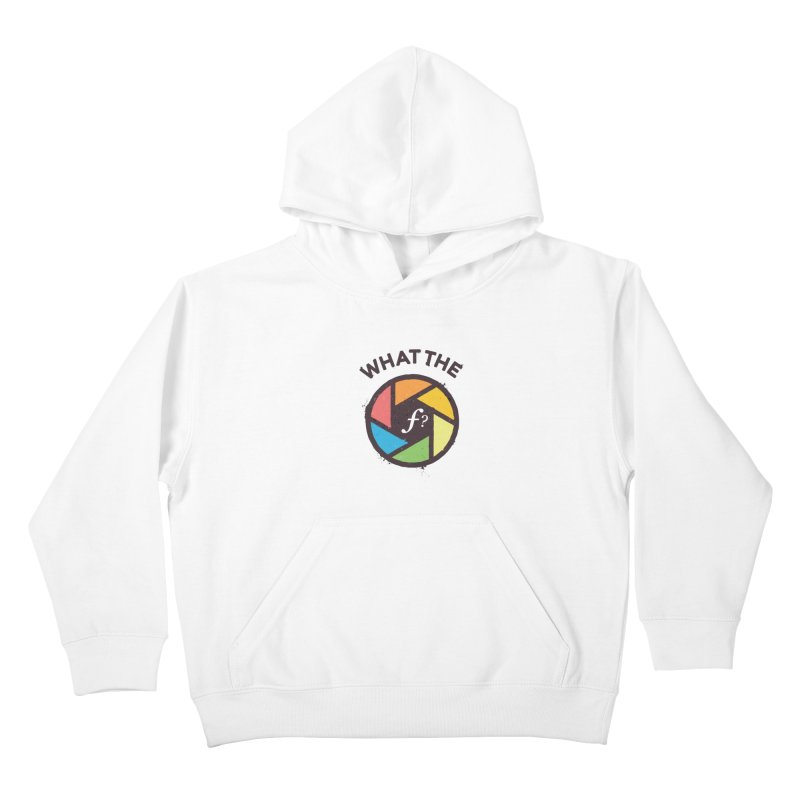 WTF - What the F? Kids Pullover Hoody by zoljo's Artist Shop