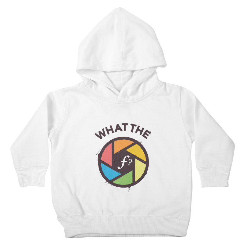 WTF - What the F? Kids Toddler Pullover Hoody by zoljo's Artist Shop