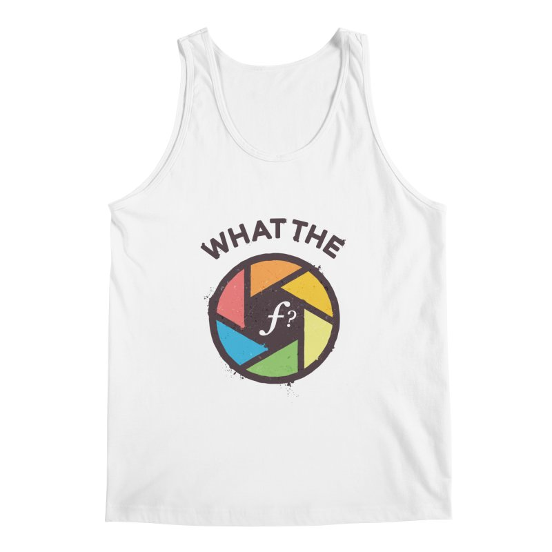 WTF - What the F? Men's Regular Tank by zoljo's Artist Shop