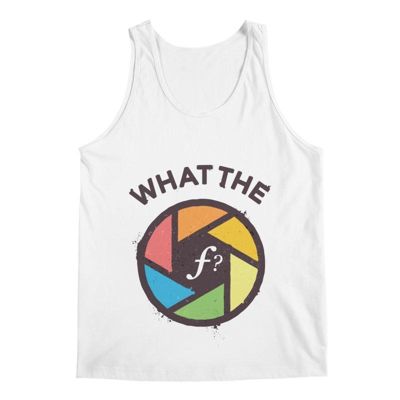 WTF - What the F? Men's Regular Tank by zoljo's Artist Shop