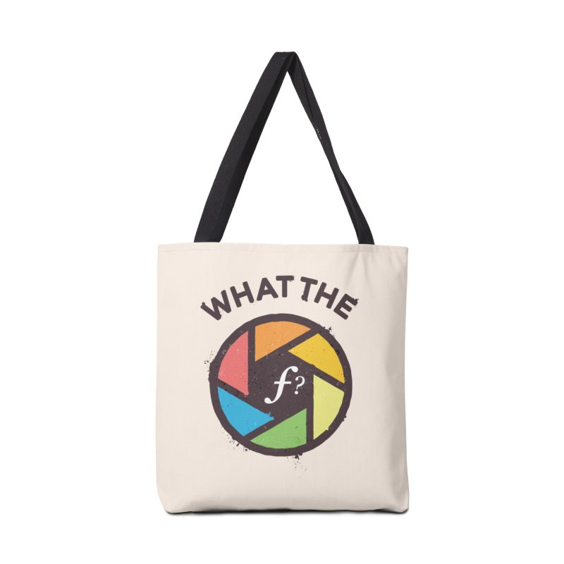 WTF - What the F? Accessories Bag by zoljo's Artist Shop