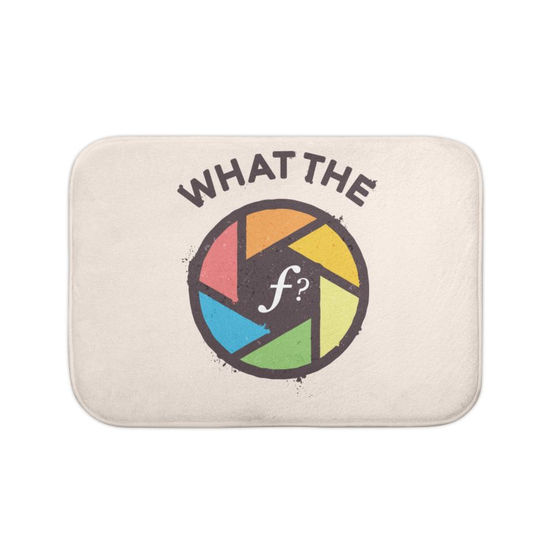 WTF - What the F? Home Bath Mat by zoljo's Artist Shop