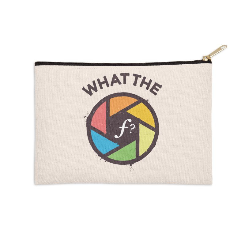 WTF - What the F? Accessories Zip Pouch by zoljo's Artist Shop