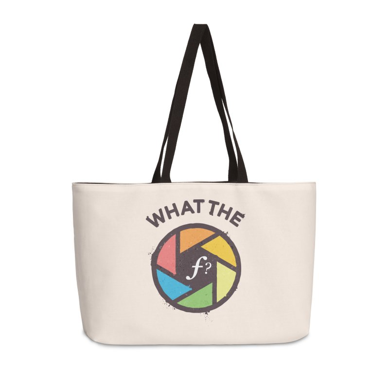WTF - What the F? Accessories Weekender Bag Bag by zoljo's Artist Shop