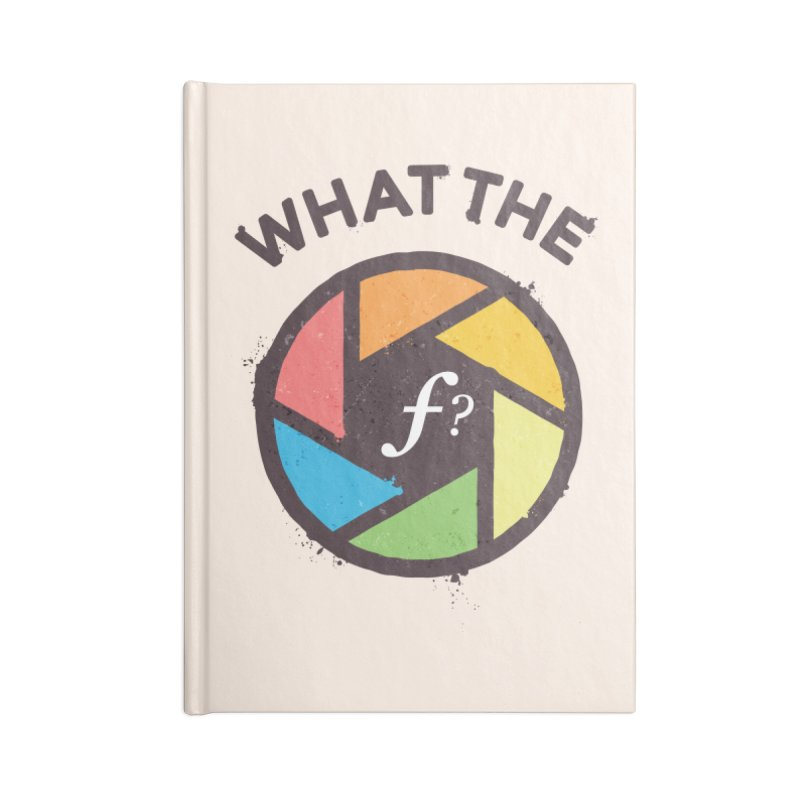WTF - What the F? Accessories Lined Journal Notebook by zoljo's Artist Shop