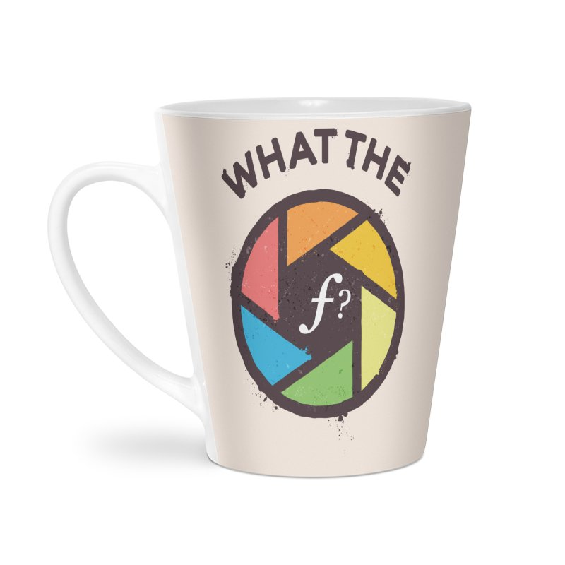 WTF - What the F? Accessories Latte Mug by zoljo's Artist Shop