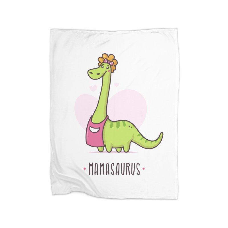 Mamasaurus Home Fleece Blanket Blanket by zoljo's Artist Shop