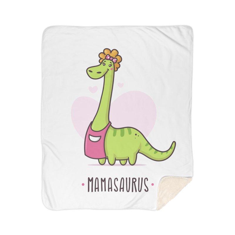 Mamasaurus Home Sherpa Blanket Blanket by zoljo's Artist Shop