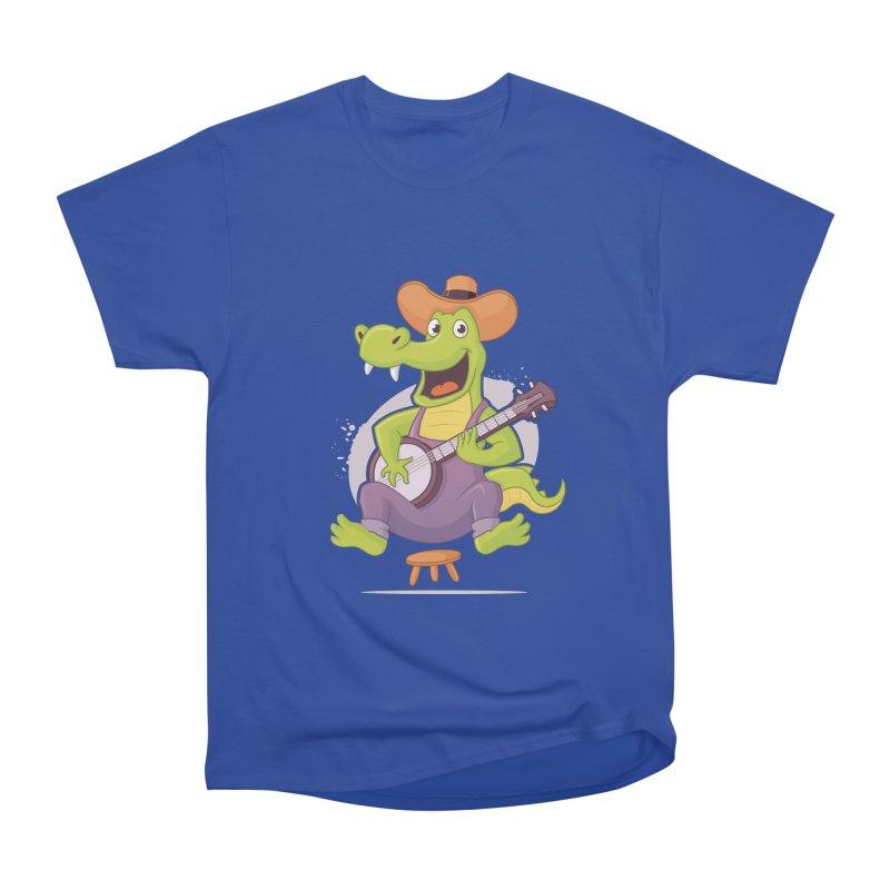 Bluegrass Alligator Men's T-Shirt by zoljo's Artist Shop