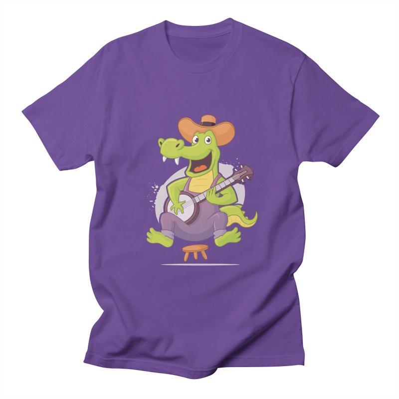 Bluegrass Alligator Women's Regular Unisex T-Shirt by zoljo's Artist Shop