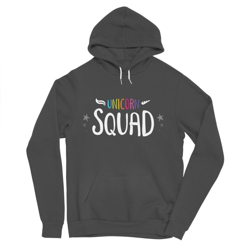 Unicorn Squad Women's Sponge Fleece Pullover Hoody by zoljo's Artist Shop