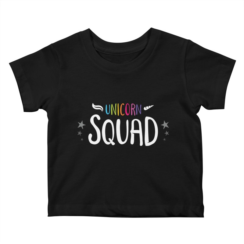 Unicorn Squad Kids Baby T-Shirt by zoljo's Artist Shop