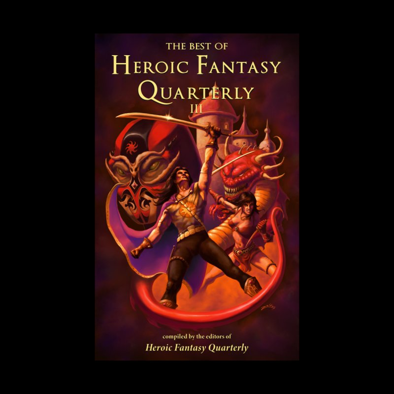 Best of Heroic Fantasy Quarterly 3 Promo Poster by ZoltanArt