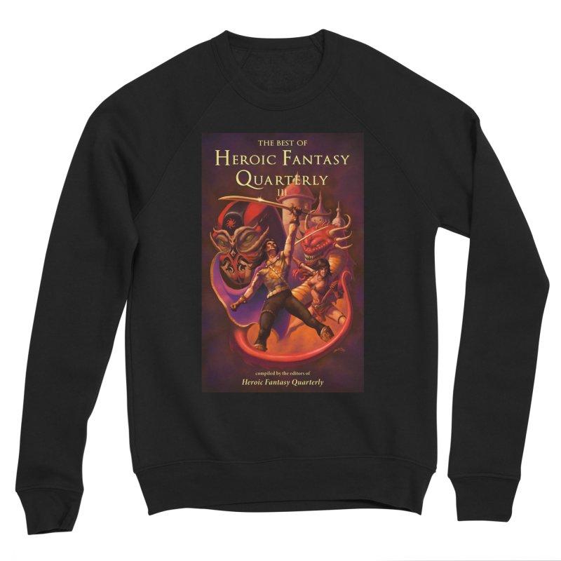 Best of Heroic Fantasy Quarterly 3 Promo Poster Men's Sponge Fleece Sweatshirt by ZoltanArt
