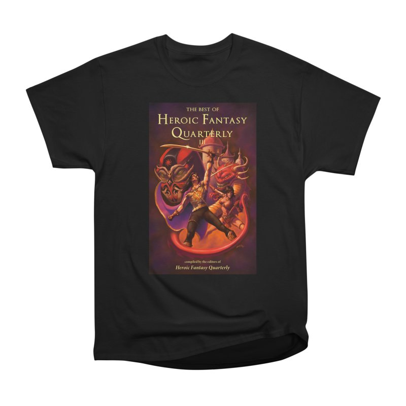 Best of Heroic Fantasy Quarterly 3 Promo Poster Men's Heavyweight T-Shirt by ZoltanArt