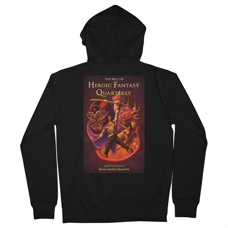 Best of Heroic Fantasy Quarterly 3 Promo Poster Men's French Terry Zip-Up Hoody by ZoltanArt