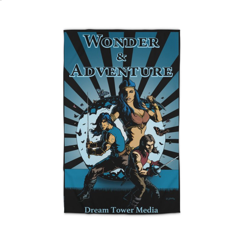 Dream Tower Media Wonder & Adventure T-Shirt Home Rug by ZoltanArt