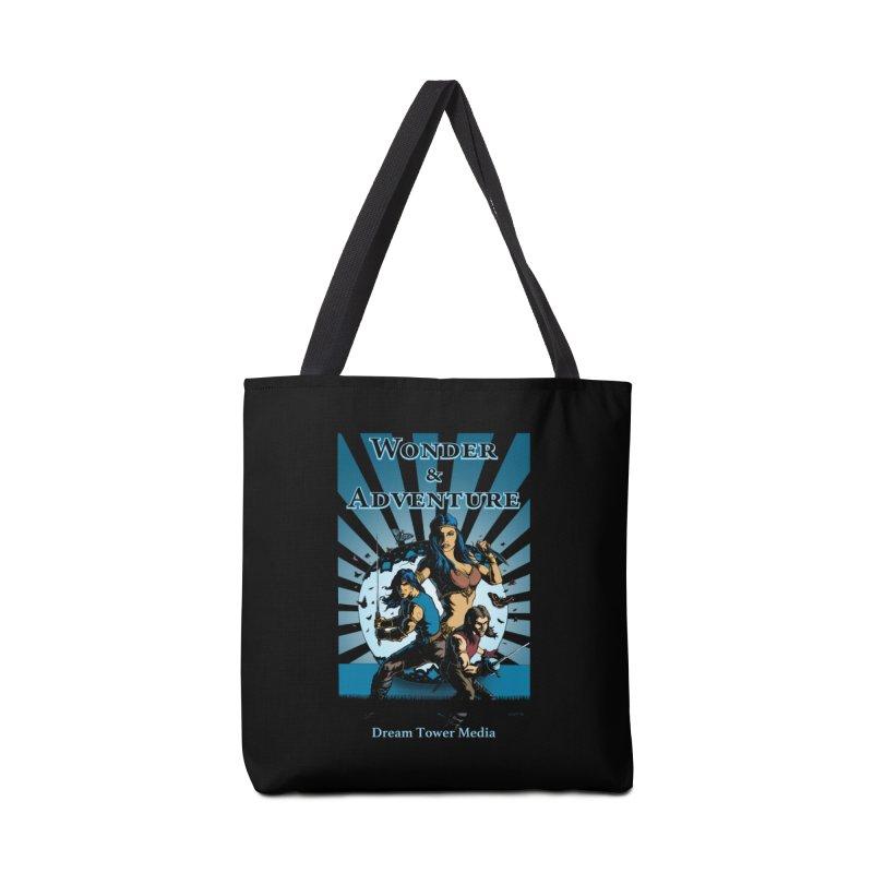 Dream Tower Media Wonder & Adventure T-Shirt Accessories Bag by ZoltanArt