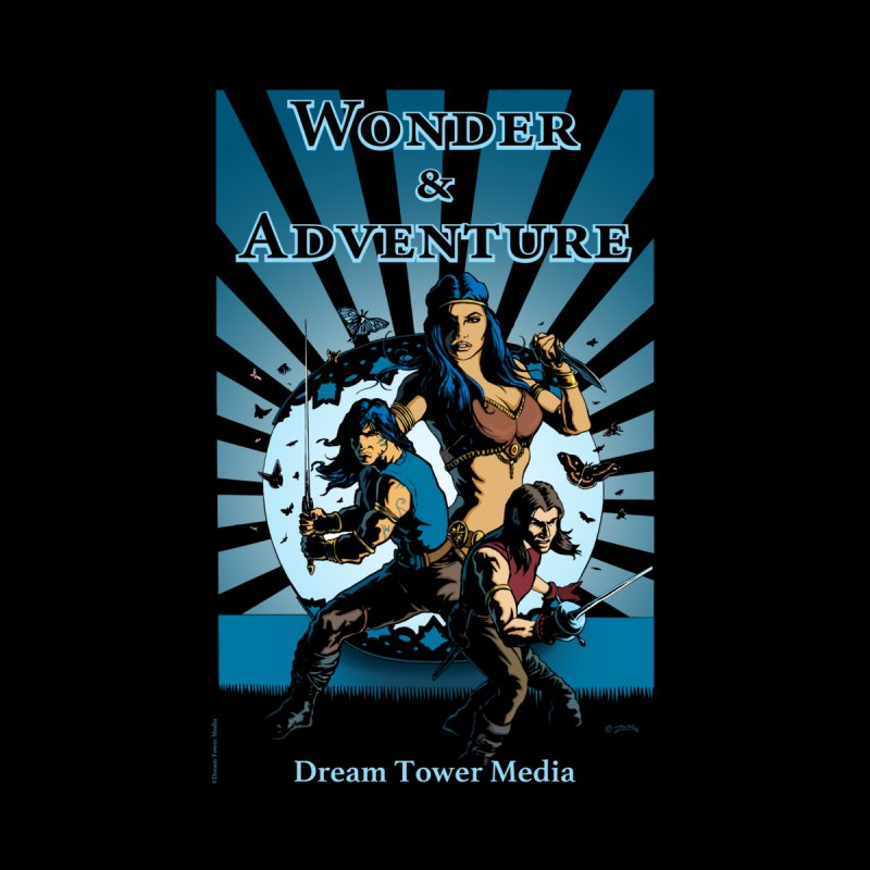 Dream Tower Media Wonder & Adventure T-Shirt None  by ZoltanArt