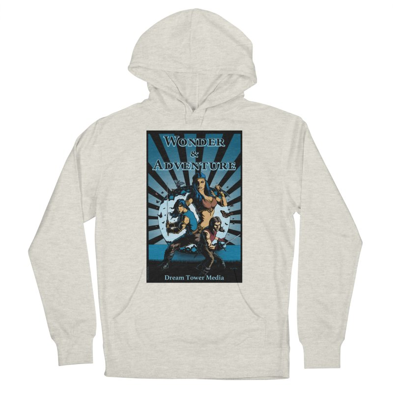 Dream Tower Media Wonder & Adventure T-Shirt Men's Pullover Hoody by ZoltanArt