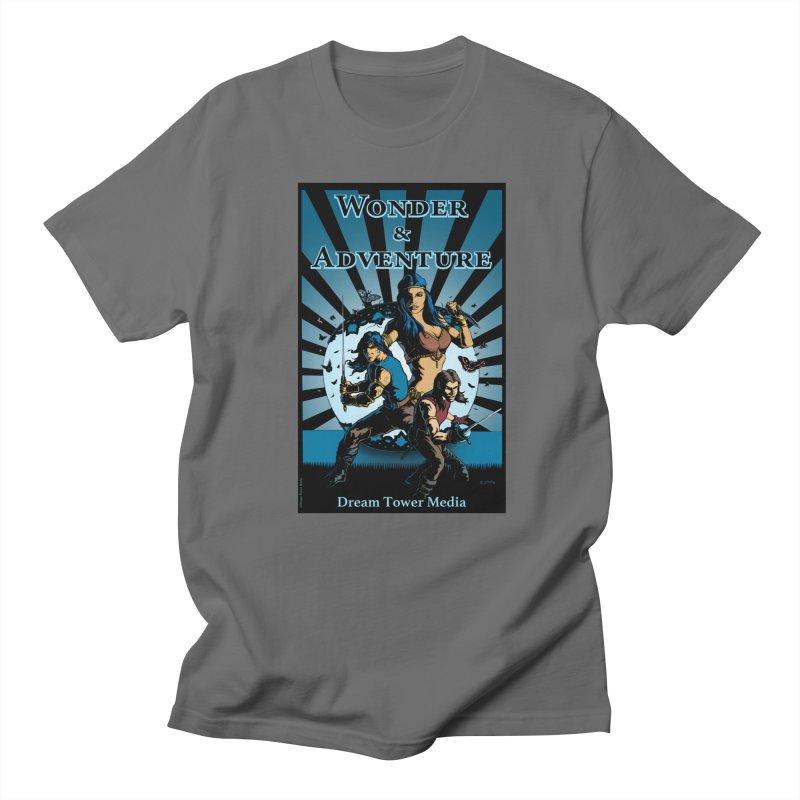 Dream Tower Media Wonder & Adventure T-Shirt Men's T-Shirt by ZoltanArt