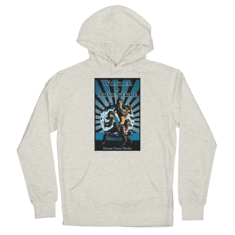 Dream Tower Media Wonder & Adventure T-Shirt Women's French Terry Pullover Hoody by ZoltanArt