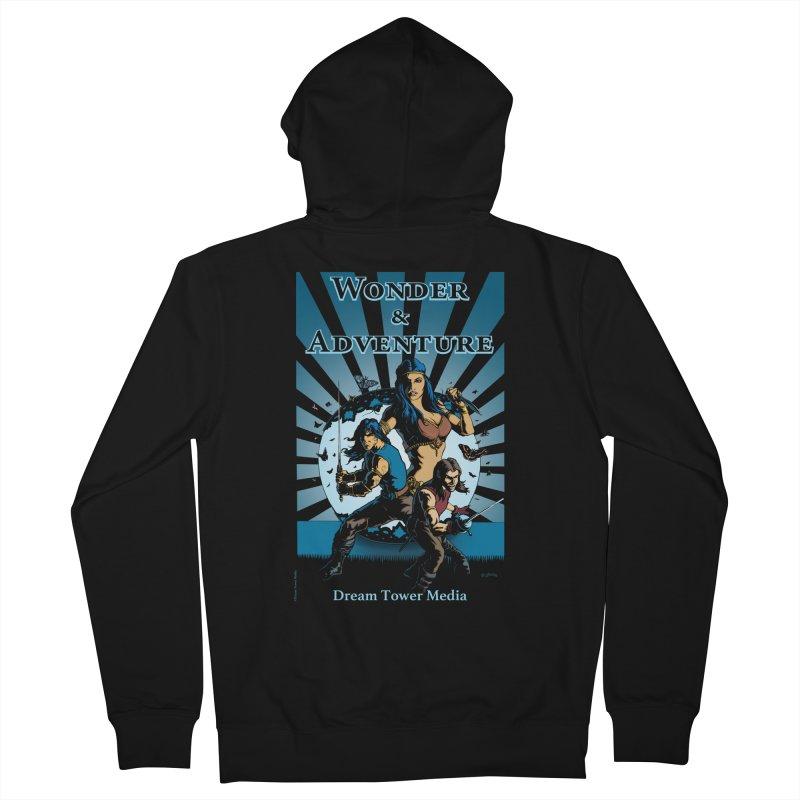 Dream Tower Media Wonder & Adventure T-Shirt Men's Zip-Up Hoody by ZoltanArt
