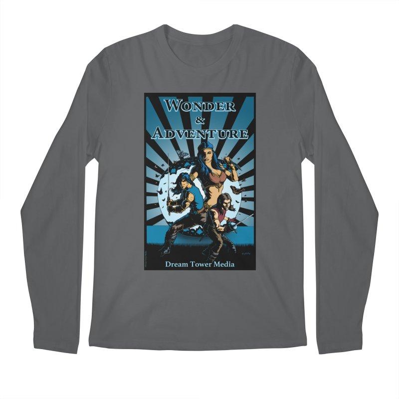 Dream Tower Media Wonder & Adventure T-Shirt Men's Regular Longsleeve T-Shirt by ZoltanArt